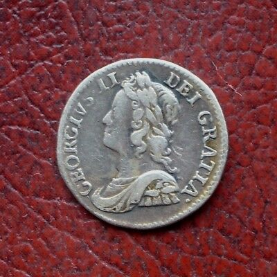 George II 1759 silver maundy twopence