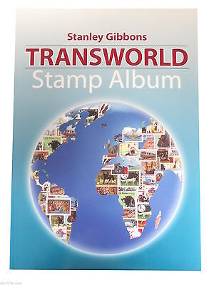 Stanley Gibbons Transworld Stamp Collectors World Album - New 2012 Cover - New