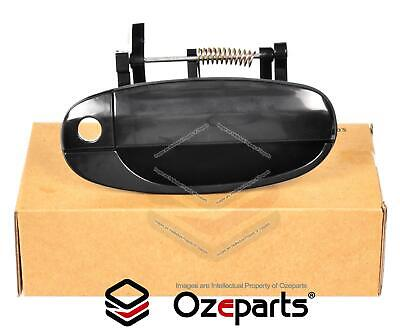 Holden Barina TK Hatch 2005~2011 Front Outer RH Right Hand Door Handle Black