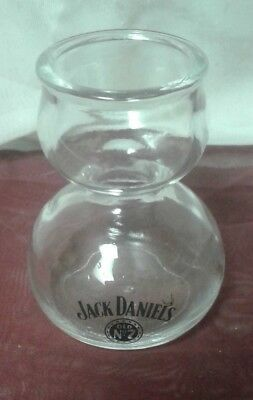 Jack Daniels Double Bubble Jigger Chaser Shot Glass Old No. 7