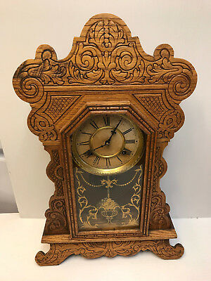 American Waterbury Fancy Gingerbread Clock