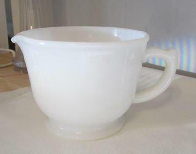 2 Cup Milk Glass Measuring and Mixing Cup