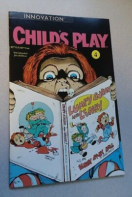 Childs Play (1991) #4 1st series Vf high grade inovation comics lot complete set