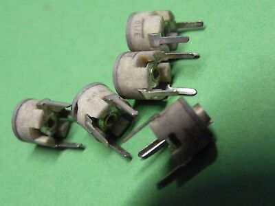 5 Pc Trim Variable Preset Capacitor Trimmer Ceramic 2 - 10pF CJ39