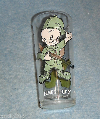 Elmer Fudd Drinking Glass Pepsi Collector Series Warner Bros. Inc. 1973