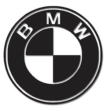 2 x BMW decal stickers Motorbike Scooter Motorcycle Car Helmet