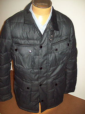 Barbour International Bootie Quilted Jacket NWT Large $449 Charcoal Gray