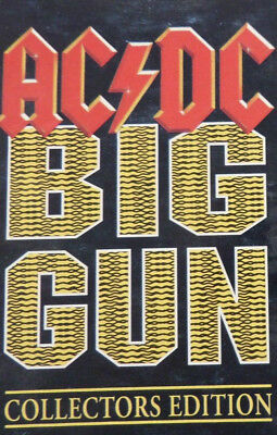 Big Gun / Back in Black (Live) by AC/DC (Cassette) Single