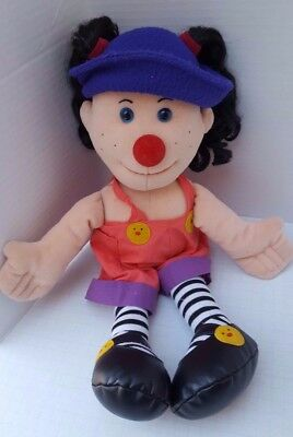 Big Comfy Couch Loonette the Clown Rag Doll TV Show 1995 Plush Commonwealth 20""