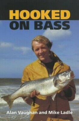 Hooked on Bass by Ladle, Mike Hardback Book The Cheap Fast Free Post