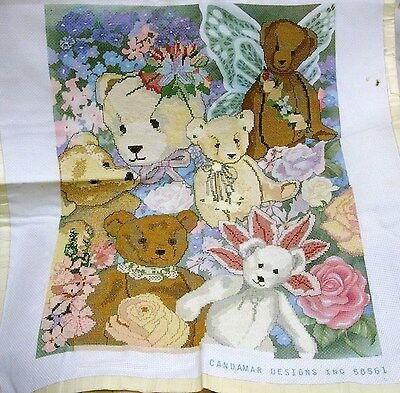 Something Special Counted Cross Stitch Kit Teddy Bear Collage #50561 New