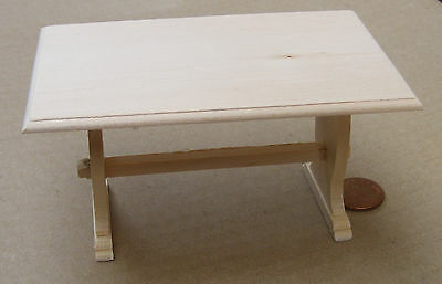 Natural Finish 1:12 Kitchen Table Dolls House Miniature Furniture Accessory 132