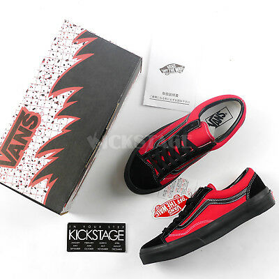 5d044c9a5c38c5 Vans x Billy s V36OG BS BKRD Old Skool Style 36 Black Red