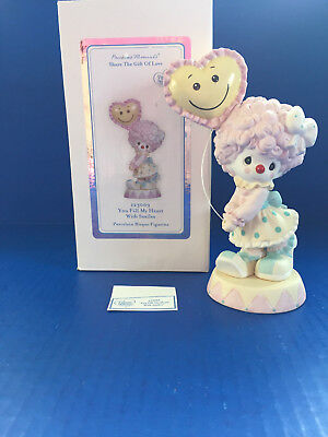 "Precious Moments Clown Girl ""You Fill My Heart with Smiles"" #123009"