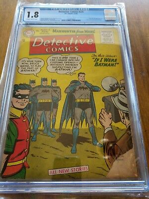 Detective Comics 225 CGC 1.8 SB Pages