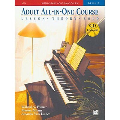 Adult All-In-One Course: Level 2: Lesson, Thoery, Solo