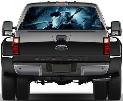 Gandalf Lord Of The Rings Hobbit Rear Window Decal Sticker Car Truck SUV Van 536
