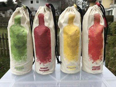 ABSOLUT VODKA TURKEY BAG komplett Set leer