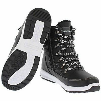 92297ba70cebdd NEW Weatherproof Ladies  Sneaker Boot Size 9 Black Water Repellent Alexa  Style