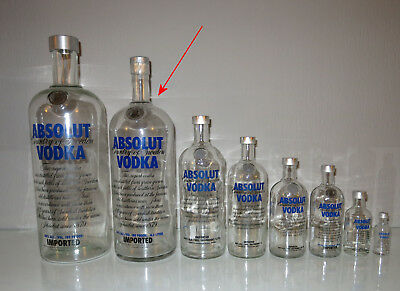 Absolut Vodka 4,5 Liter Showflasche leer Show bottle 4.5 4000ml empty