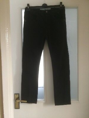 Boys Black Slim Jeans Size 12-13 Years From Denim Co