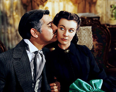 VIVIEN LEIGH CLARK GABLE GONE WITH THE WIND 8x10 PHOTO