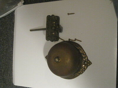 Vintage Brass Doorbell Ringer Turn handle