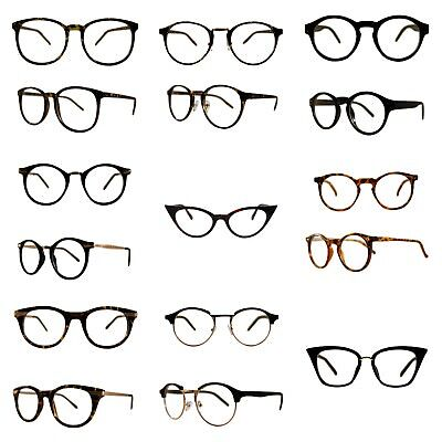 Geek Nerd Clear Lenses Glasses Optical Frames Fancy Dress Fashion Spectacles UK