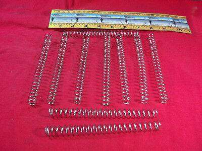 "COMPRESSION SPRINGS  1/2"" dia. 6"" long ***QTY=10***"