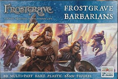 Osprey Games - Frostgrave Barbarians Plastic 28mm (20) New!