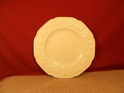 Crown Ducal China Florentine Off White Dinner Plate 10 1/2""