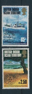 British Indian Ocean Territory Nordvaer 1974 MiNr 57 - 58 MNH / **