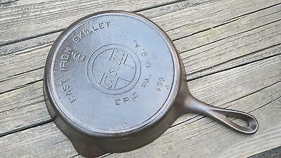Griswold No.6 Cast Iron Skillet with Heat Ring Slant Logo P/N 699A