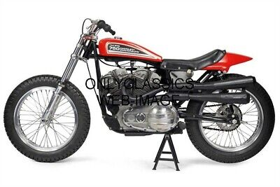 Harley Davidson Xr-750 Photo Ama Motorcycle Flat Track Racing Awesome Fast Racer