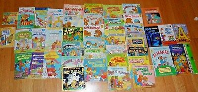 Berenstain Bear books lot of 43 ~ 6 HARDCOVER ~ 1 SIGHT & SOUND