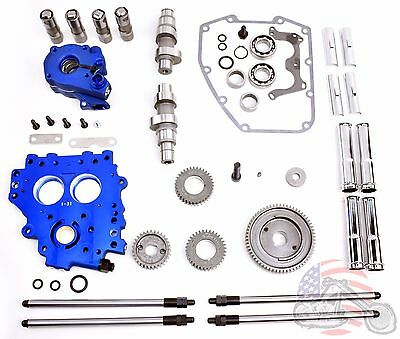 Andrews Feuling Gear Drive Driven Big Twin Cam Camshaft Kit Harley Touring 37G