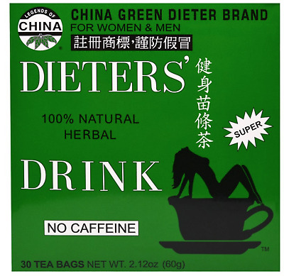 Uncle Lee Dieters' Drink Chinese Green dieter brand Herbal tea for Weight loss