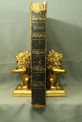 Big rare old Antique book of Sheet Music late 1840  early 1850 Piano Forte Opera