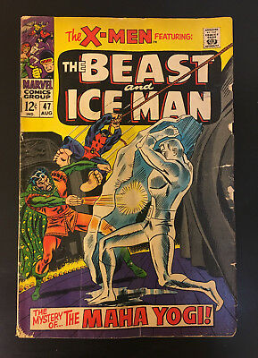 The X-Men  # 47 (The Beast and Ice Man),