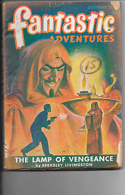 Fantastic Adventures Vol.9 #7 The Lamp Of Vengeance November 1947