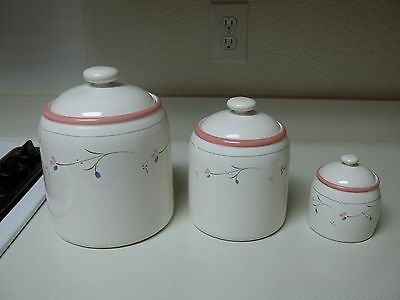 Ranmaru Nordic Wind Canister Set ~ Set of 3 Canisters with Lids