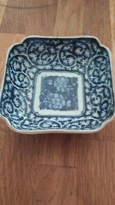 Antique Chinese Porcelain bowl blue and white bowl.Believed to be 19th century.
