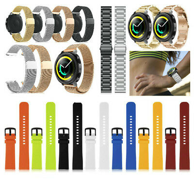 Silicone/Milanese/Stainless Steel Wrist Band Strap For Samsung Gear Sport Watch
