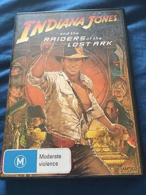 Indiana Jones And The Raiders Of The Lost Ark - Harrison Ford - Dvd R4