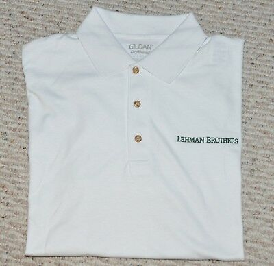 LEHMAN BROTHERS ~ POLO ~ GOLF SPORTSWEAR ( Large or X-Large )  ~ NOT MANY LEFT!