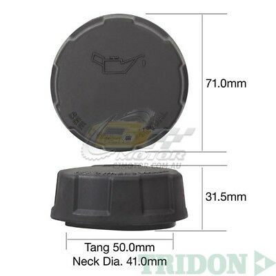 Water Pump Cover Teardrops Black Anodized ModQuad WPC1-TBLK