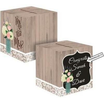 rustic wedding card box creative creative converting new 334 85