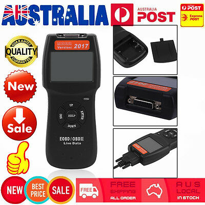 Car Vehicle OBD 2 OBD2 OBDII EOBD Diagnostic Scanner Fault Code Reader Scan Tool