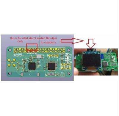 "0.95"" inch OLED I2C LCD Display for MMDVM Hotspot Module Raspberry pi"
