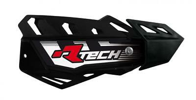 New Racetech Black Vertigo Handguards INC Mount Kit Motocross Enduro
